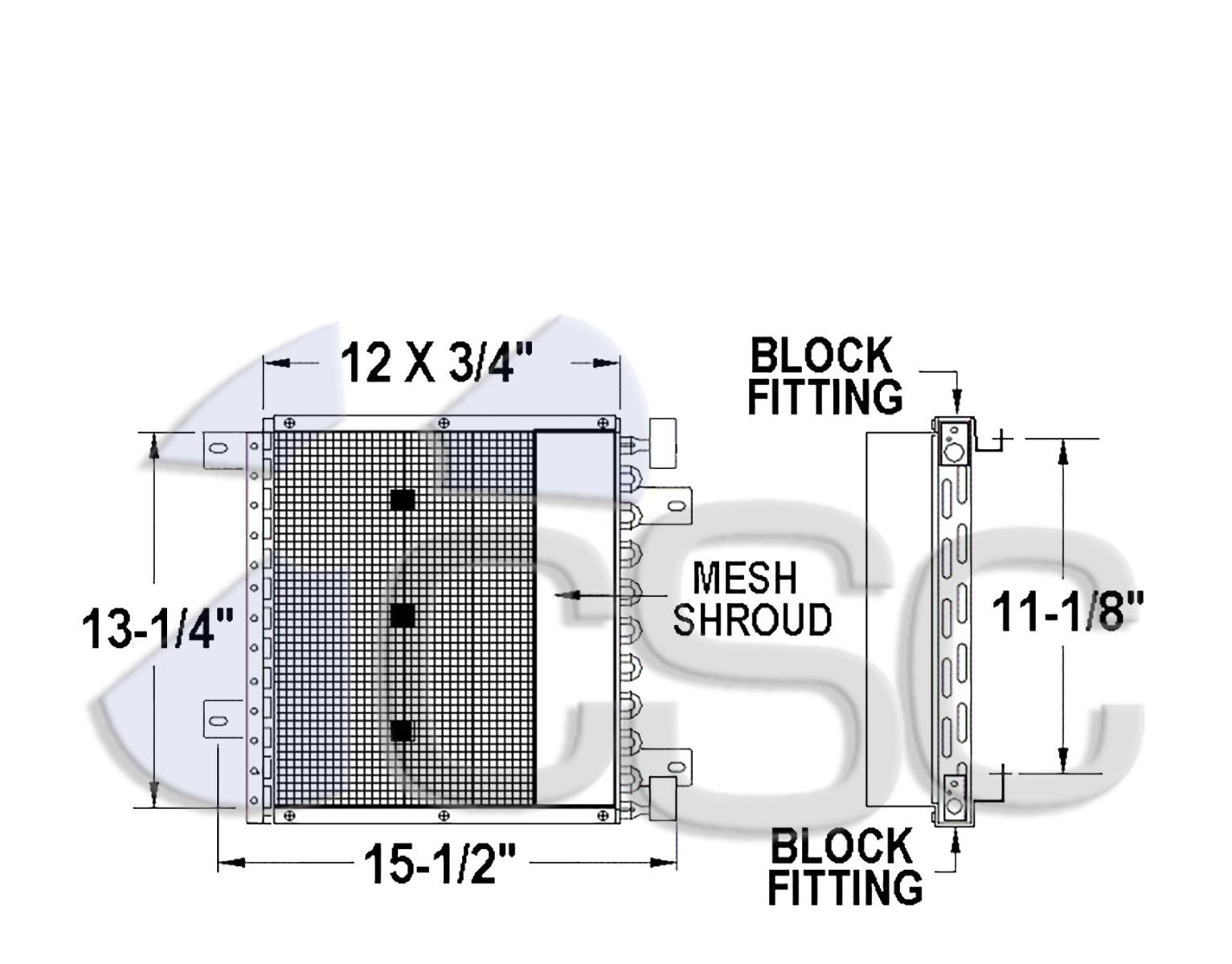 Isuzu - Condensers - Truck Products