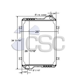 Case Radiator 103RA103