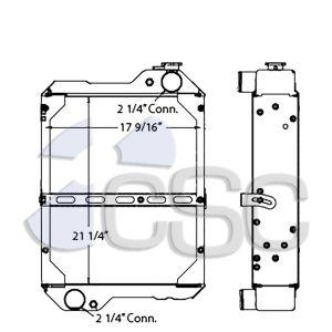 Case Radiator 103RA138
