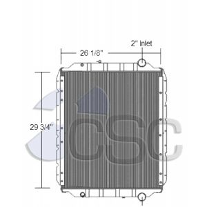 Blue Bird Radiator 201RA003