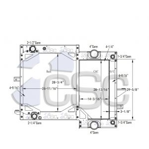 Gillig Radiator 206RA090A-BWF