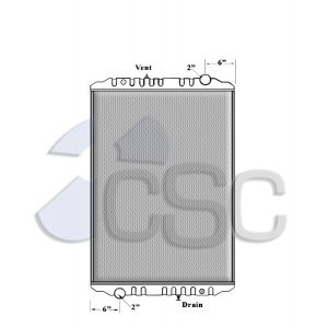 Spartan Radiator 215RA0213