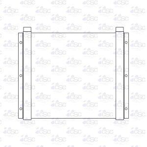 Cummins Onan Diesel Cooler 403DC001