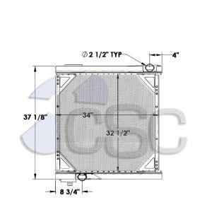 MCI Radiator 211RA044