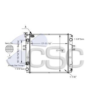 Nissan Lift Truck Radiator 513RA9358