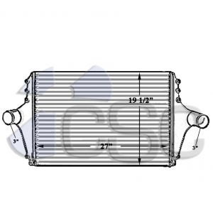 Ford Charge Air Cooler 611CA125B