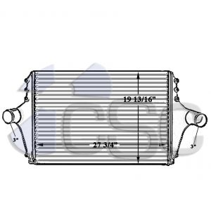 Ford Charge Air Cooler 611CA125E
