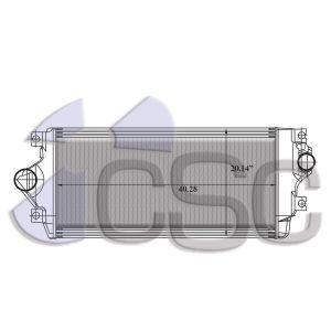 International Navistar Charge Air Cooler 615CA042