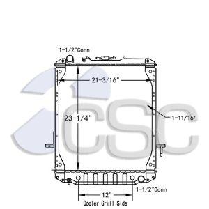 GMC/ Isuzu Radiator 617RA028
