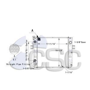 TCM Radiator 515RA9362