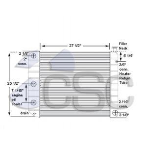 GMC Radiator 605RA001