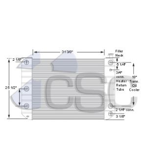 GMC Radiator 605RA003