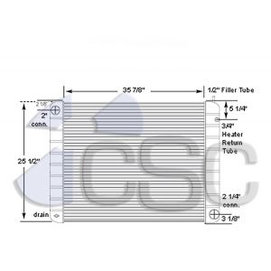 GMC Radiator 605RA005