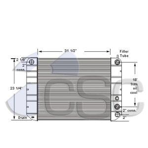 GMC Radiator 605RA009