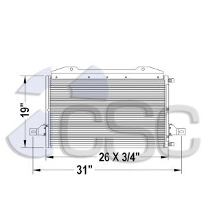 Ford AC Condenser 611AC296