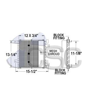 Isuzu AC Condenser 617AC318