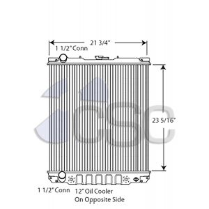 Isuzu Radiator 617RA014