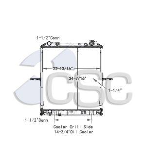 Isuzu / GMC Radiator 617RA044WF