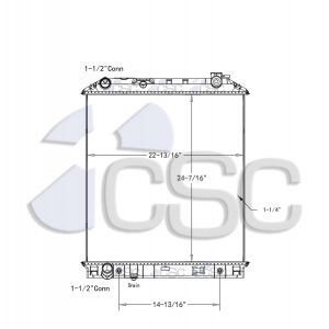 Isuzu/GMC Radiator 617RA9411