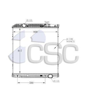 Mercedes Radiator 625RA9221