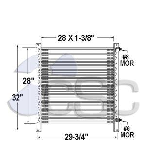 Peterbilt AC Condenser 633AC273