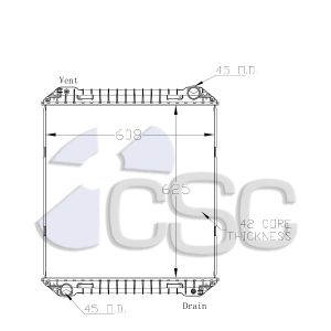 Iveco Radiator 647RA001