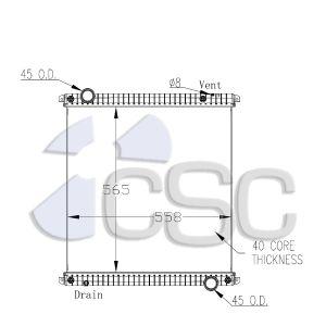 Iveco Radiator 647RA005