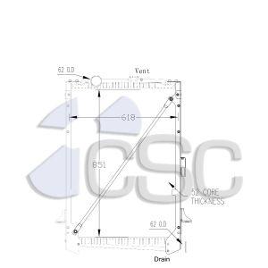 DAF Radiator 649RA004WF