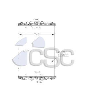 DAF Radiator 649RA006
