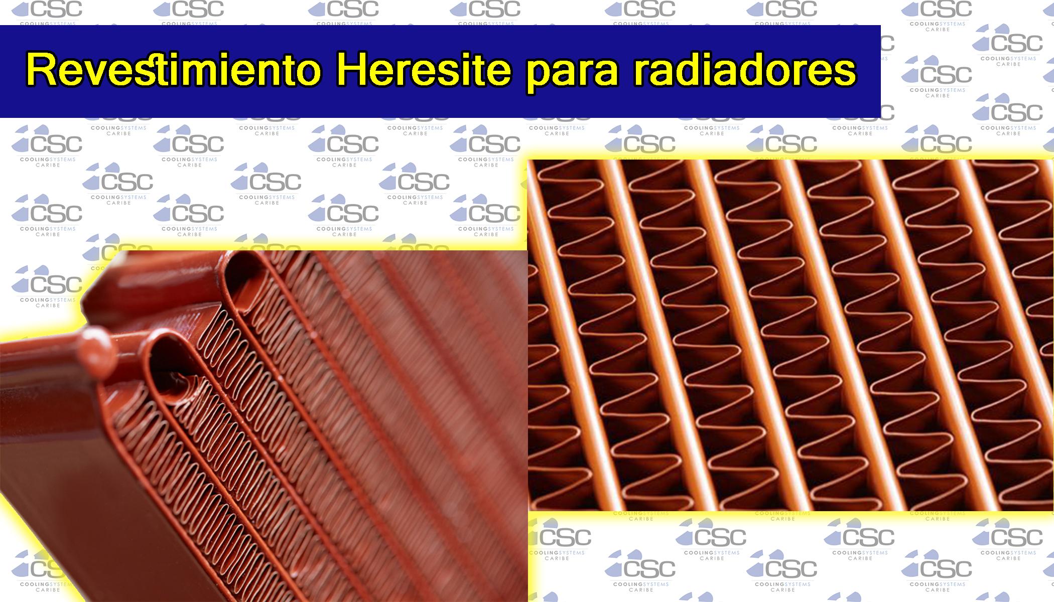Revestimiento Heresite para radiadores